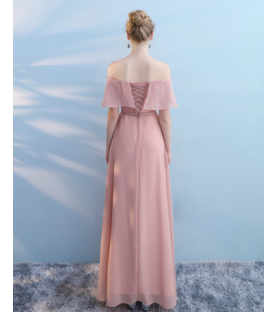 Audrey Dress (Dusty Pink)