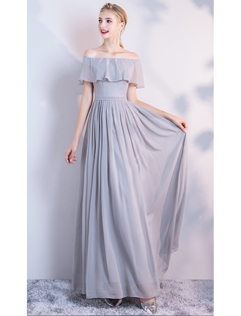 Audrey Dress (Soft Grey)