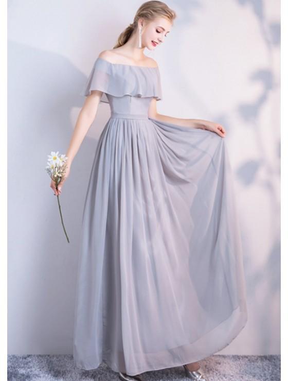 Audrey Dress (Soft Grey)