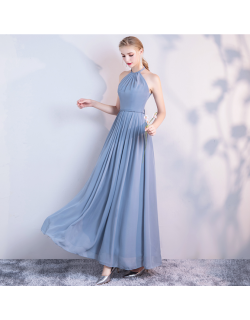 Carissa Dress (Dusty Blue)