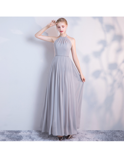 Carissa Dress (Soft Grey)
