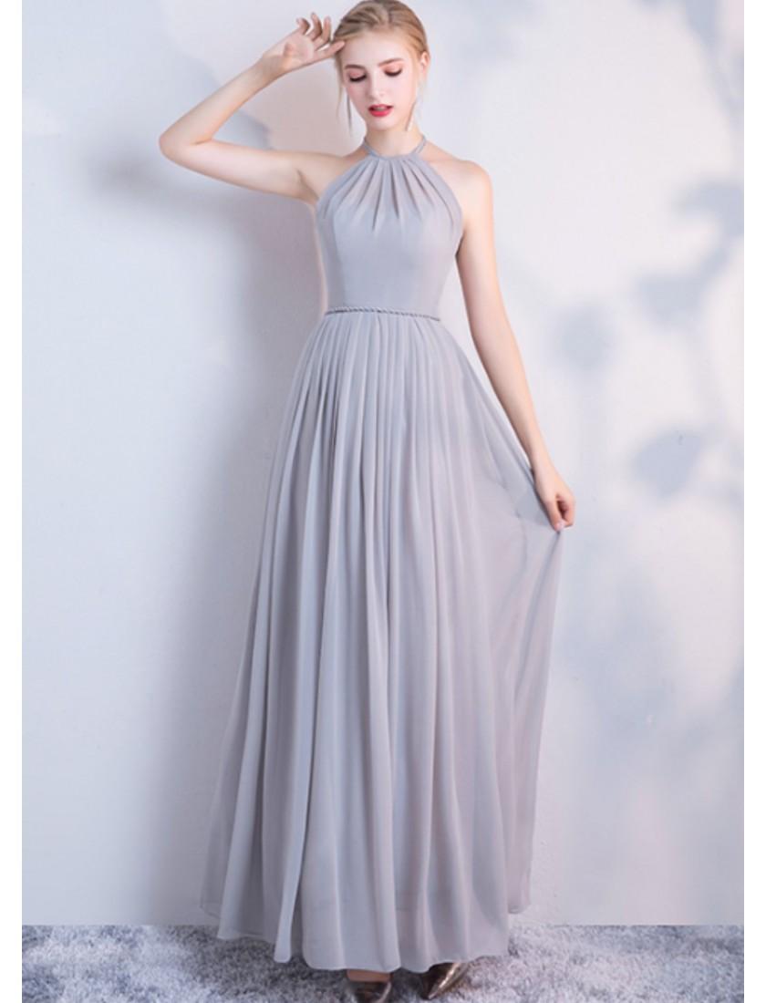 Carissa Dress (Soft Grey)