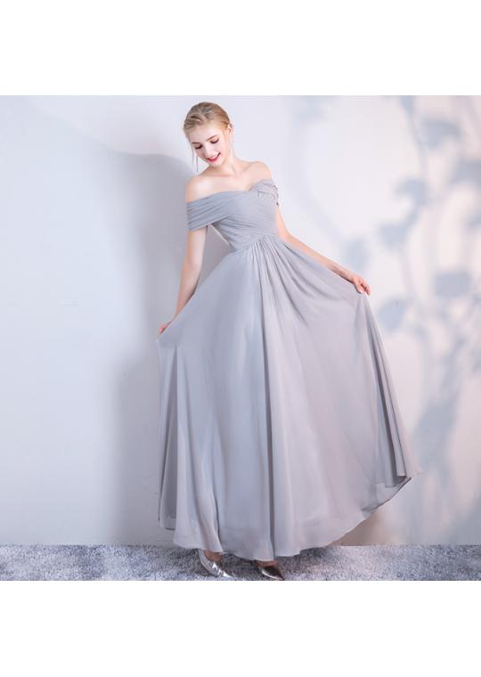 Misha Dress (Soft Grey)