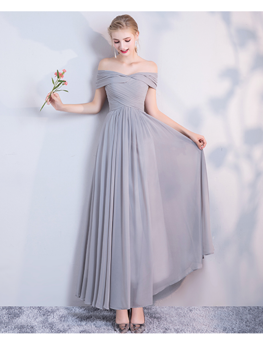 Misha Dress (Soft Grey)
