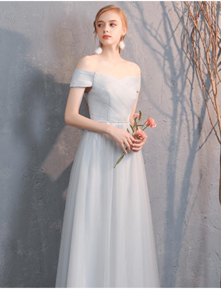 Bella Dress (Light Grey)