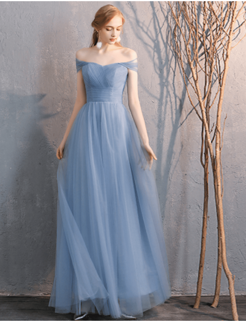 Sienna Dress (Dusty Blue)