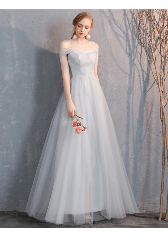 Sienna Dress (Light Grey)