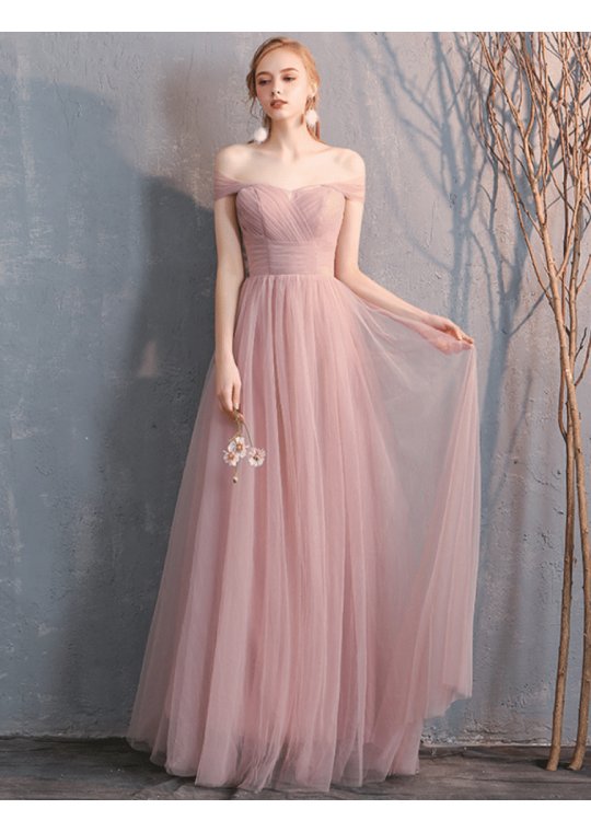 Sienna Dress (Dusty Pink)