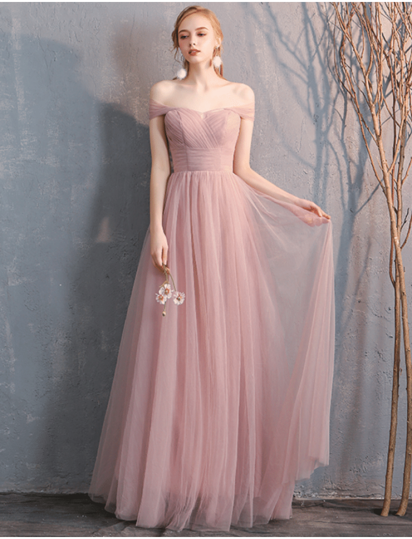 Sienna Dress (Dusty Pink)