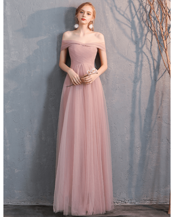 Arianna Dress (Dusty Pink)