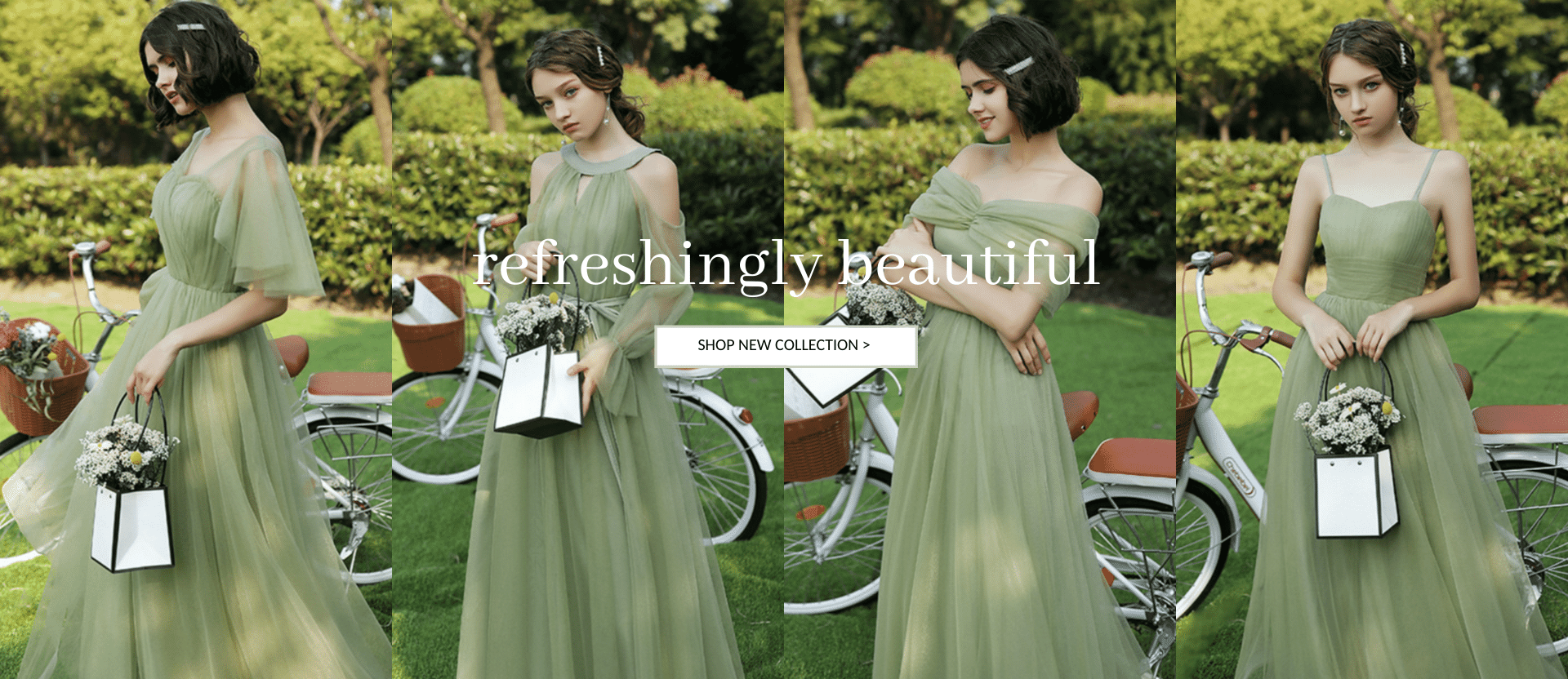 Shop Sage Green Gowns